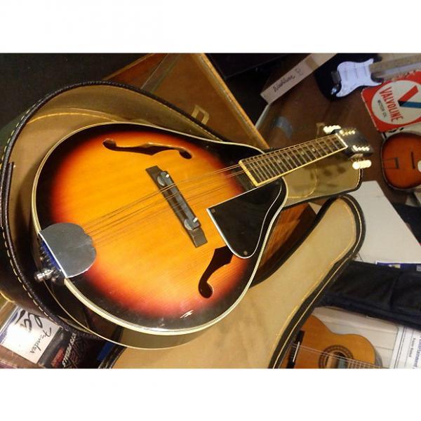 Custom KEY Mandolin & Chipboard Case Model H-M-6 - needs restring #1 image