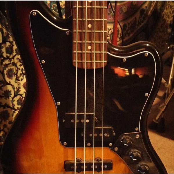 Custom Squier Jaguar 2015 + Hartke 25 Watt Amp #1 image
