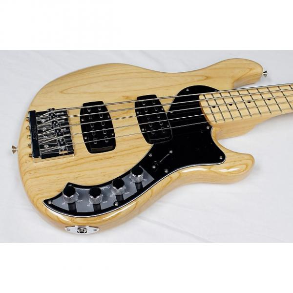 Custom Fender Deluxe Active Dimension Bass V w/GB, Maple FB, Natural Gloss, NEW! #36993 #1 image