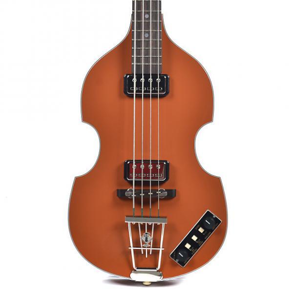 Custom Hofner Gold Label Berlin 1962 Reissue 500/1 Violin Bass Brown #1 image