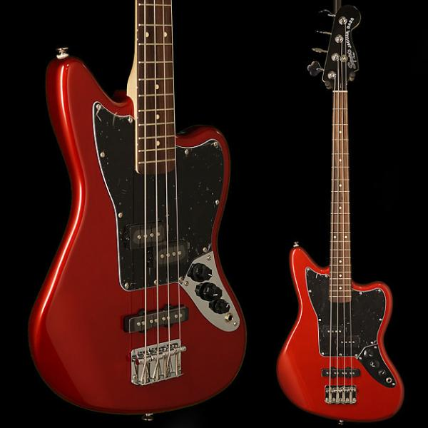 Custom Squier Vintage Modified Jaguar Bass Special Rosewood Fingerboard Candy Apple Red #1 image