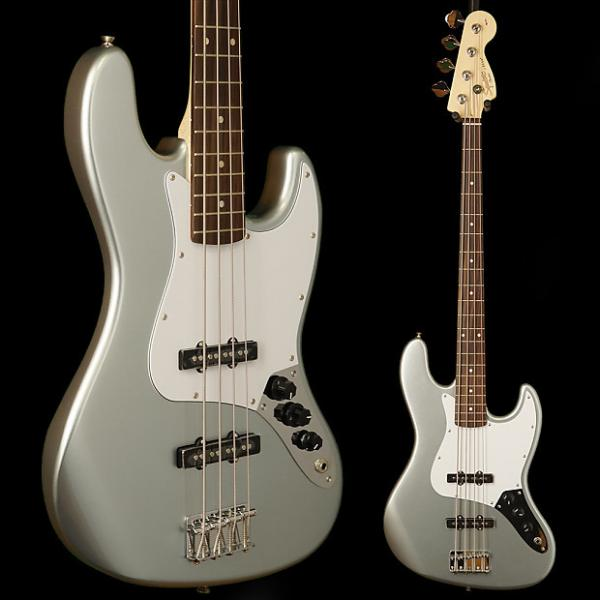 Custom Squier Affinity Jazz Bass, Rosewood Fingerboard, Slick Silver #1 image