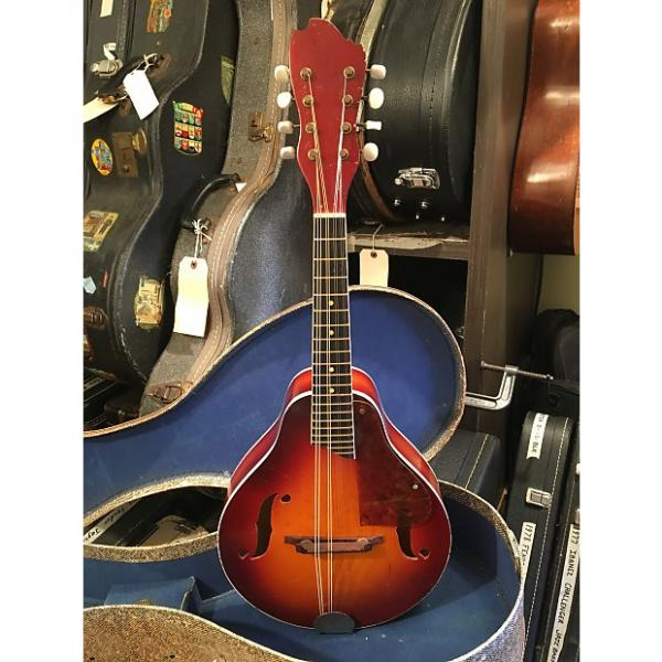 Custom Kay K73 Mandolin ca. 1952 Cherry Sunburst Kamico Oldkraftsman Orpheum Paramount Silvertone Harmony #1 image