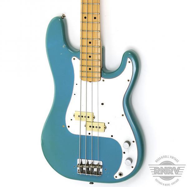 Custom Fender Precision Bass 1981 Maui Blue #1 image
