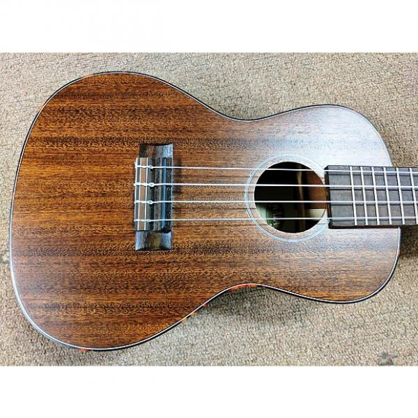 Custom Kala KA-SMHC Solid Wood Mahogany Series Concert Ukulele, 2016, Natural, Binding #1 image