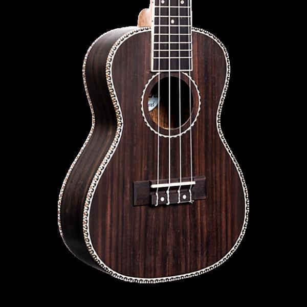 Custom Amahi UK440B Classic Rosewood Ukulele - Baritone with Gig Bag #1 image