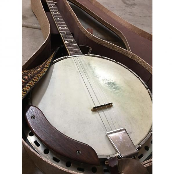 Custom Vintage 50s Kay - Tenor Banjo W/ Original Case, Strap, And Kluson Tuners! #1 image