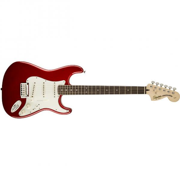 Custom Squier® Standard Stratocaster® Candy Apple Red #1 image