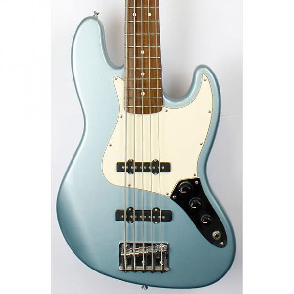 Custom Fender Standard Jazz Bass V, 5 String, Lake Placid Blue with Gig Bag (Pre-Owned) #1 image