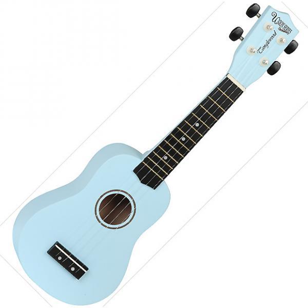 Custom Tanglewood Guitars  Soprano Ukulele - Blue #1 image