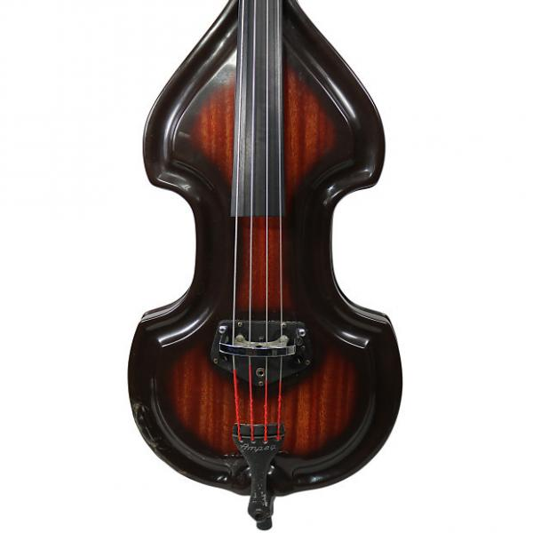 Custom Vintage 1960's Ampeg BB-4 Upright Electric Baby Bass #1 image