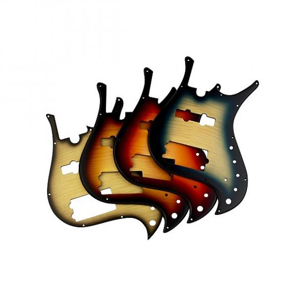 Custom Pickguard for Brubaker MJX 5 String - Honey Burst #1 image