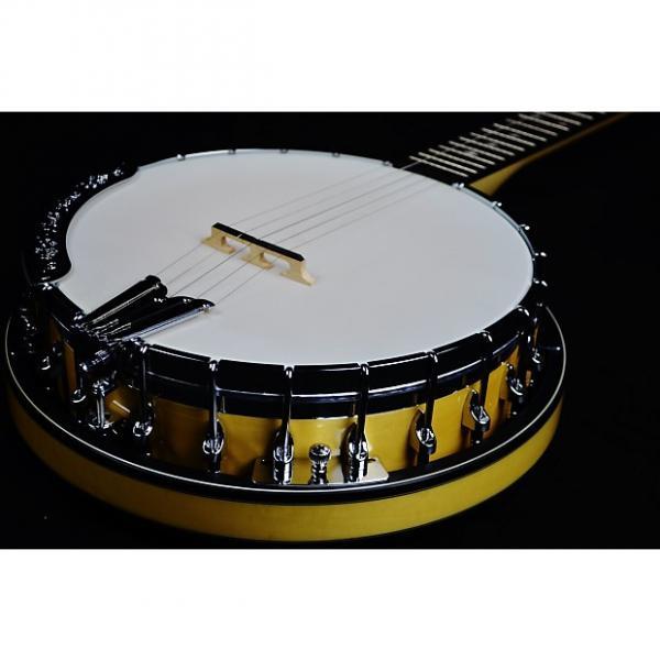 Custom Gold Tone MC-150RP 5-String Banjo Natural Gloss w/ Hard Shell Case #1 image