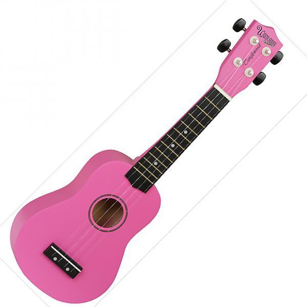 Custom Tanglewood Guitars  Soprano Ukulele - Pink #1 image
