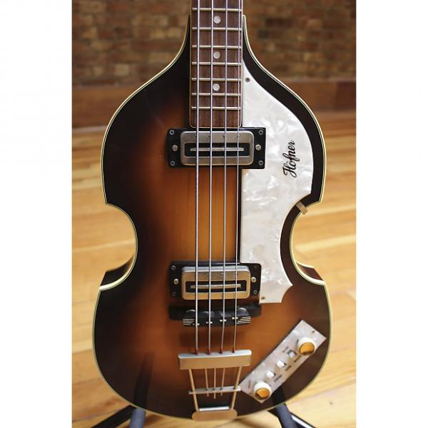 Custom Hofner 500/1 Violin Bass Reissue 1990s #1 image