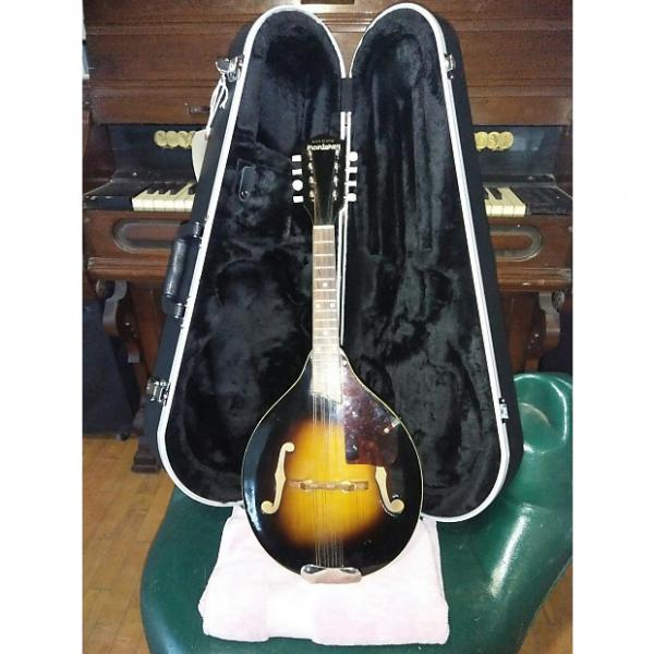 Custom Vintage Antique 1936 Harmony Monterey Mandolin (all solid maple & spruce) + Hardcase #1 image