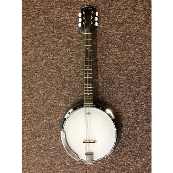 Custom Recording King Madison 6-String Banjo with Gig Bag #1 image