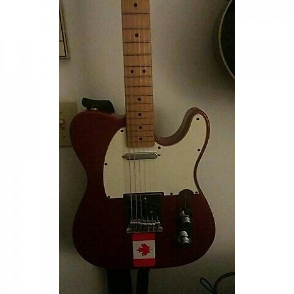 Custom Squier Telecaster 1994 Cherry red #1 image