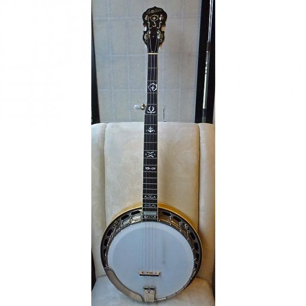 Custom Goldstar G-12W 5 String Banjo 1985 Ultra Rare Pristine Archtop #1 image