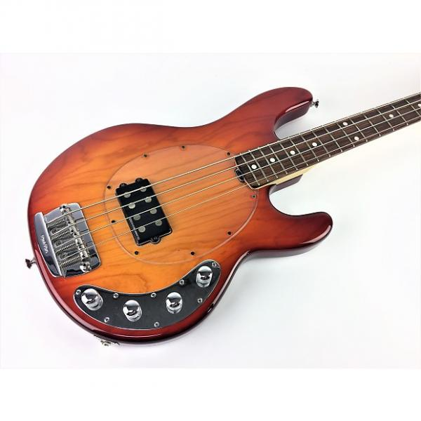 Custom Ernie Ball Music Man Stingray 4st 2003 Sunburst w/ Clear Pickguard #1 image