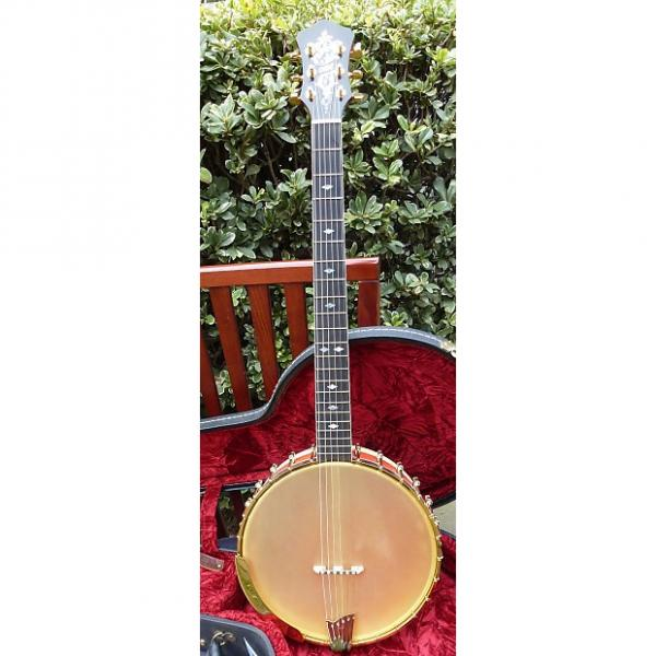 Custom Ome Custom Six String Banjo/Guitar - Best Sounding Guitar Banjo Ever Made, Bar None! #1 image