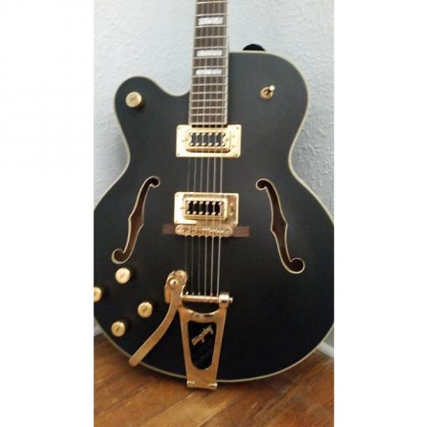 Custom Gretsch Left-Handed G5191BK Tim Armstrong Hollow Body with Bigsby #1 image