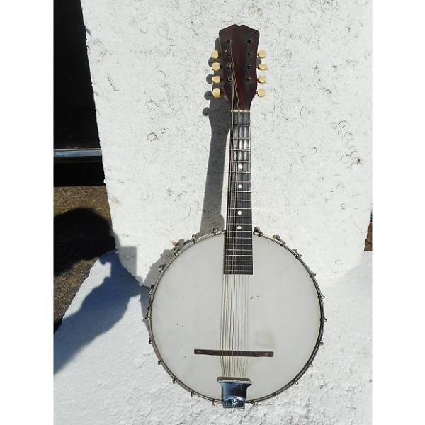 "Custom Vega Fairbanks Style K Banjo Mandolin, 1915, 10"" Head, Boston, Mass. #1 image"