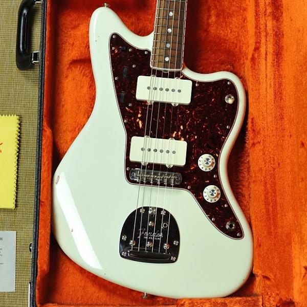 Custom Fender '65 American Vintage Reissue Jazzmaster - 1965 AVRI - Olympic White #1 image