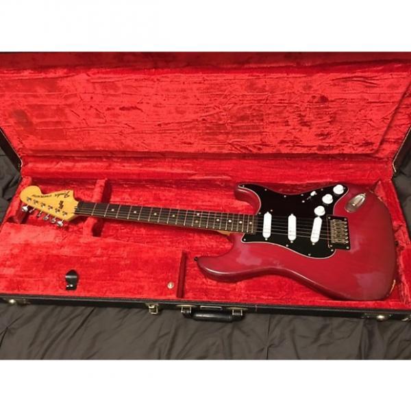 Custom Fender Stratocaster 1979 Red #1 image