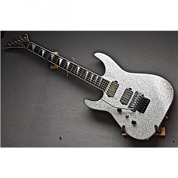 Custom Jackson Left Handed USA Custom Shop SL2H Soloist 2016 Silver Sparkle Lefty Guitar #1 image