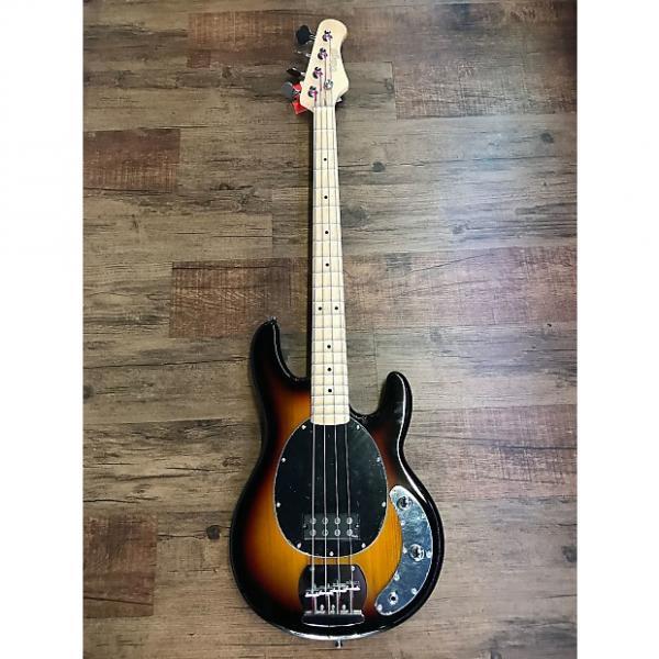 Custom Stagg MB300 Music Man Style Bass Guitar Sunburst #1 image