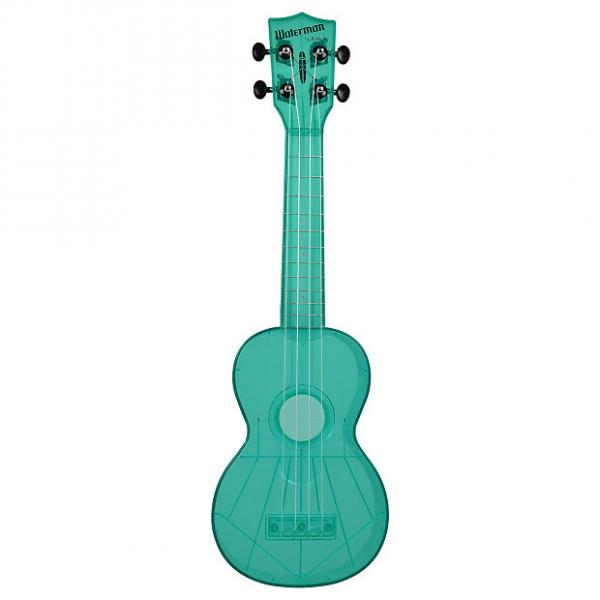 Custom Waterman Ukulele (Gloss - Fluorescent Blue) #1 image