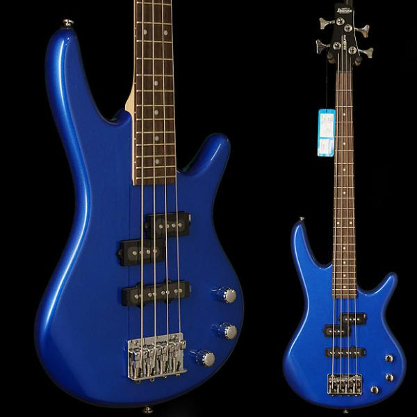 Custom Ibanez GSRM20SLB Gio Soundgear Mikro 3/4 Size Electric Bass Guitar Starlight Blue #1 image