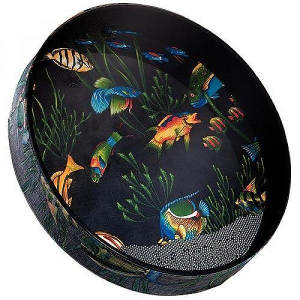 "Custom Remo Ocean Drum, Fish Heads 2.5"" x 16"" #1 image"