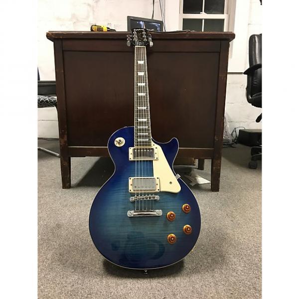 Custom Epiphone Les Paul Standard 2008 Translucent Blue #1 image