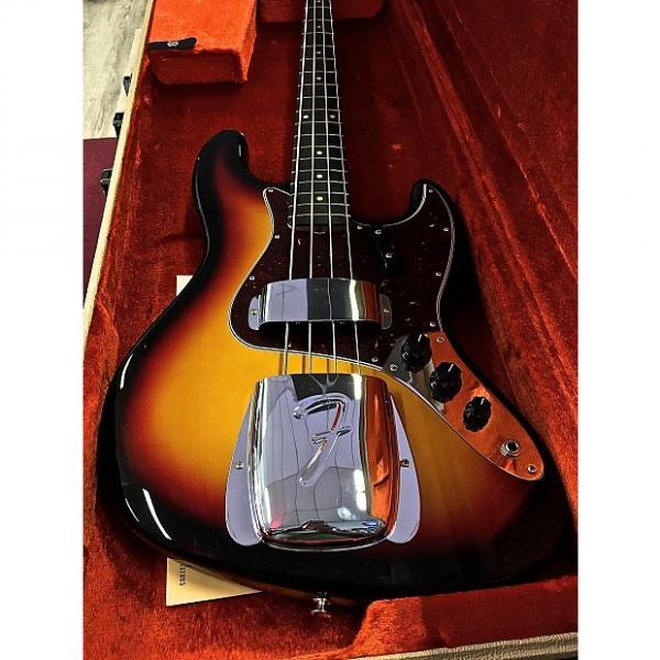 Custom Fender BASSE AMERICAN VINTAGE '64 JAZZ BASS 2016 3 TONS SUNBURST #1 image