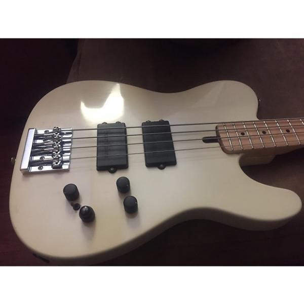Custom Gallo Telecaster Bass 2017 Cream #1 image