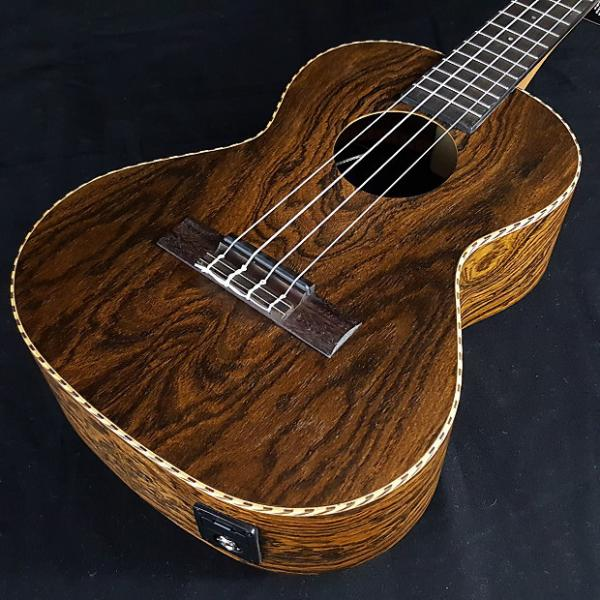 Custom New KALA Bocote Butterfly Series Acoustic Electric Tenor Ukulele KA BFTE KABFTE #1 image