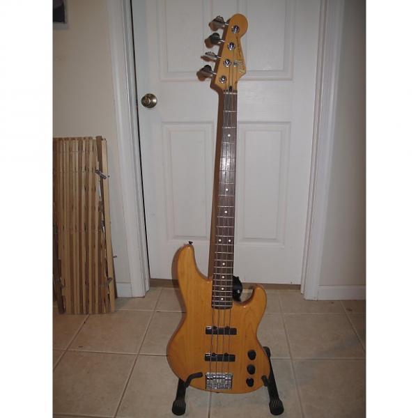 Custom Fender Jazz Bass Plus 1992 Amber Natural #1 image