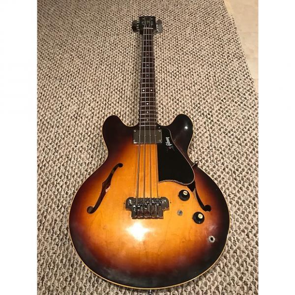 Custom Vintage Gibson EB-2 1969 Sunburst bass - all original parts plus original vintage hard case #1 image