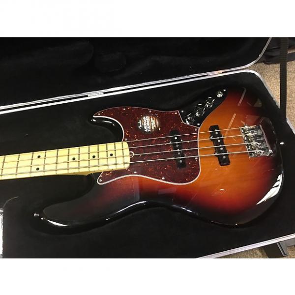 Custom Fender American standard Jazz Bass 2013 3 Tone Sunburst #1 image