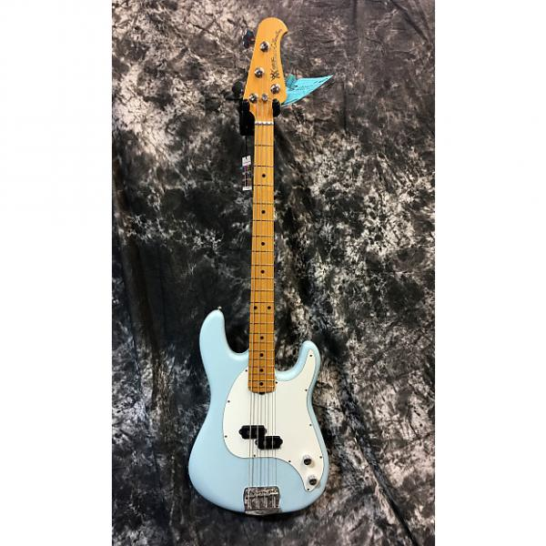 Custom Brand New Ernie Ball Music Man Cutlass Bass 2017 Diamond Blue w/Hardcase #1 image