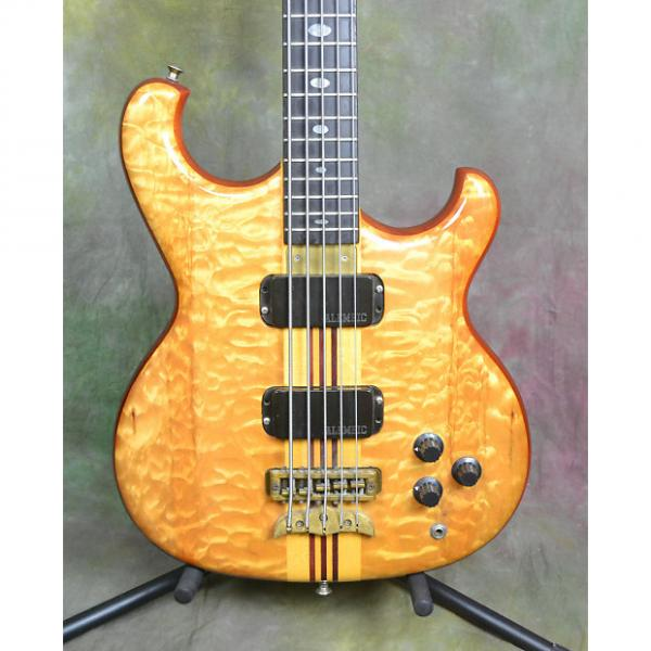 "Custom 1988 Alembic Spoiler 5-string 32"" bass w/hard case #1 image"