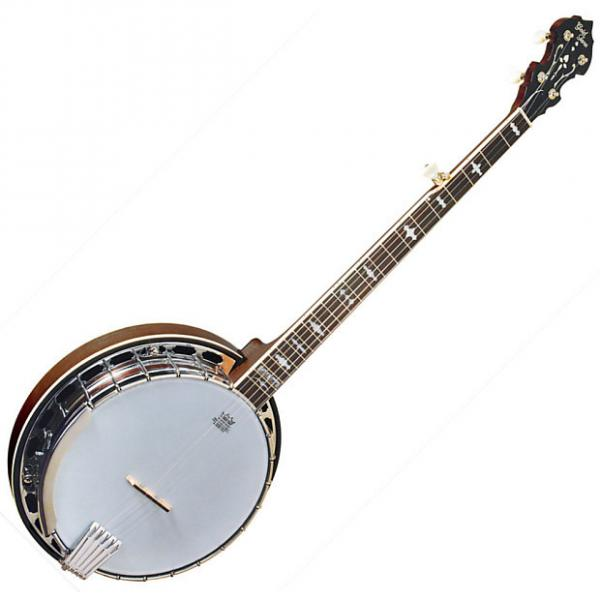 Custom Gold Tone OB-150 Orange Blossom Five String Masterclone Banjo w/Hard Case #1 image