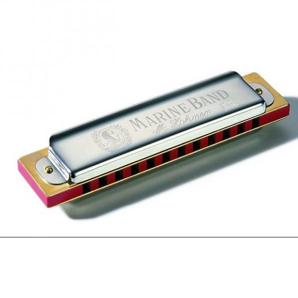 Custom Hohner Marine Band 364 Soloist Harmonica keyed in C #1 image