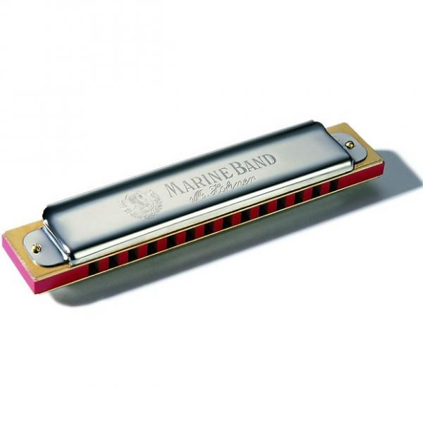 Custom Hohner Marine Band 365 Harmonica keyed in G #1 image