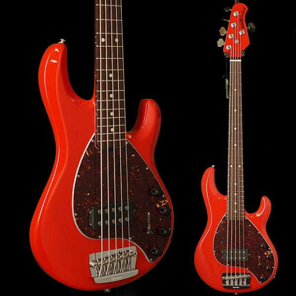 Custom Ernie Ball Music Man StingRay5 Neck-Through Chili Red #1 image
