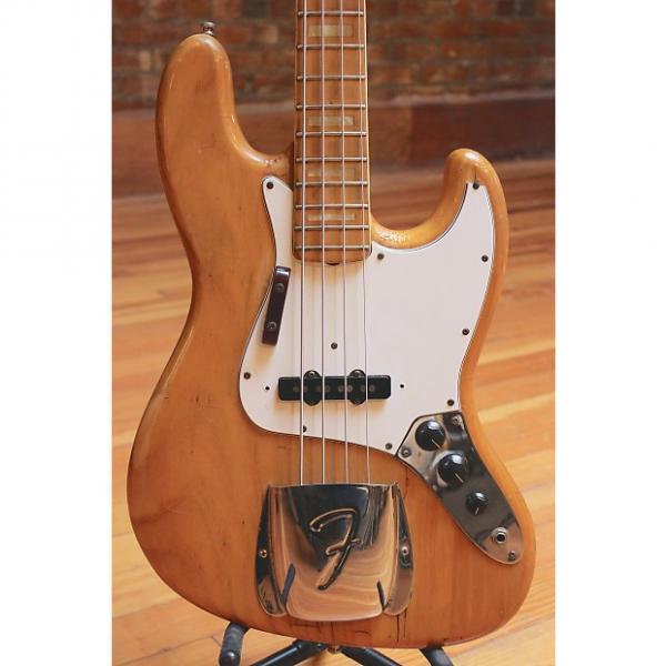 Custom Fender Jazz Bass 1975 Natural #1 image