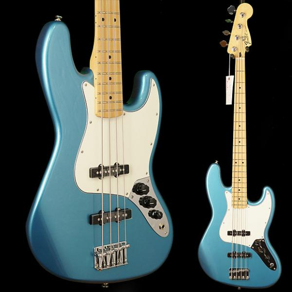 Custom Fender Standard Jazz Bass, Maple Fingerboard Lake Placid Blue #1 image