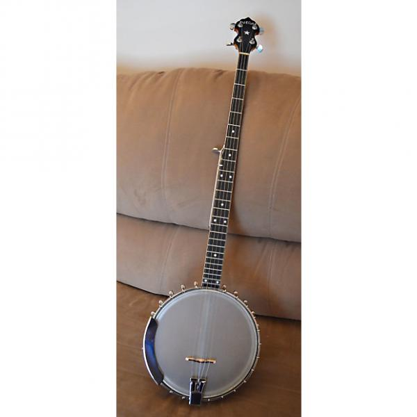 Custom Vega Pete Seeger 5-String Longneck Banjo 1961 Amber Natural #1 image